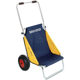 Eckla Beach-Rolly Con Ruote Antiforatura, blue/yellow